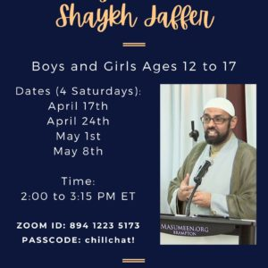Hang out with Sheikh Jaffer