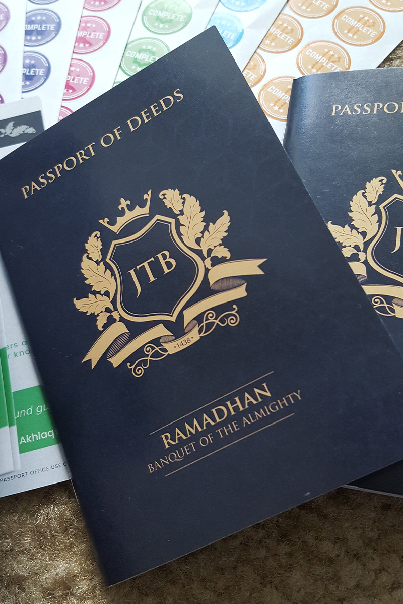 Passport of Good Deeds